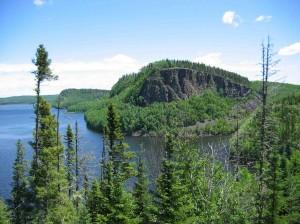Border Lakes Cliff (Photo: Lawson Gerdes)