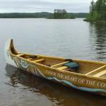 The Canoe the Heart voyageur canoe (Photo courtesy Darryl Bathel)