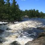 Rapids below Curtain Falls